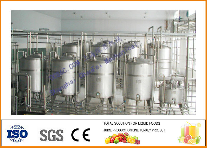 SS304 Complete Dairy Milk Production Line CFM-P-5-10-T/H CE Certification
