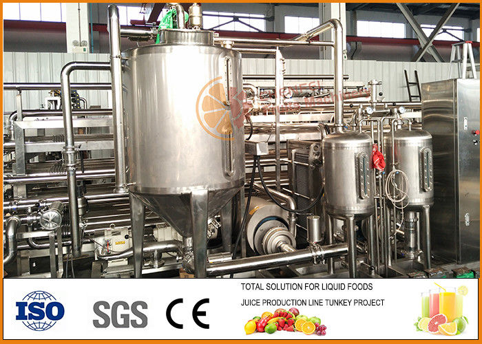 Turnkey Project  Plum Fruit Juice Processing Plant  For Juice And Jam