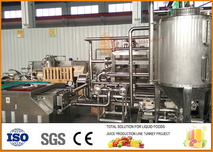 Red Bayberry Fruit Juice Processing Line 15~20 Brix Solid Content