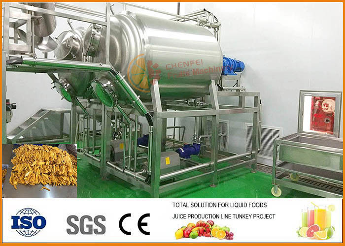 Fruit and Vegetable Dried Mango Processing Machine Food Grade SS304