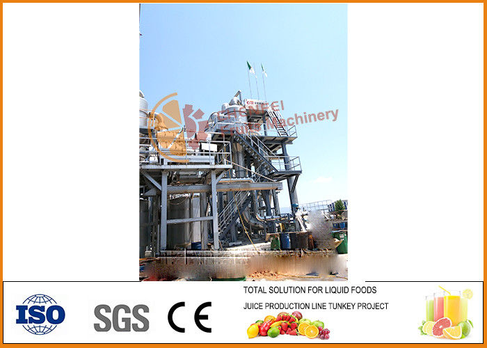 SUS304 500-600 T/Day Tomato Paste Processing Line CFM-A-01-251-301