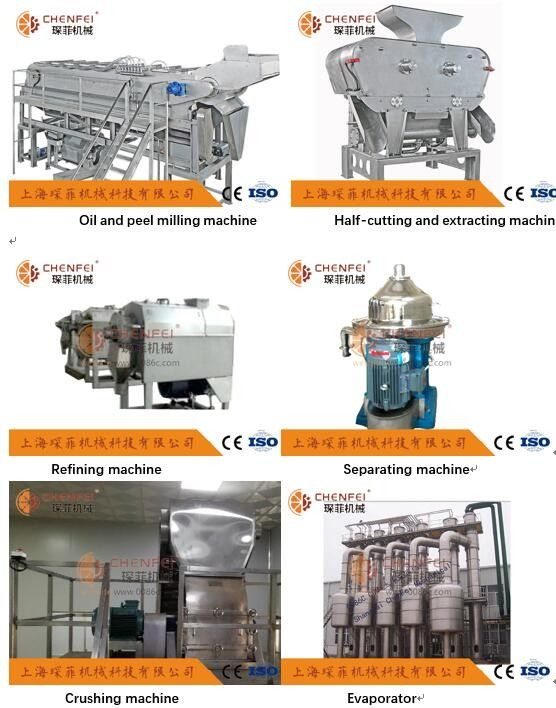 5T/H NFC Citrus Orange Juice Production Line CFM-A-02-312-312 High Efficiency
