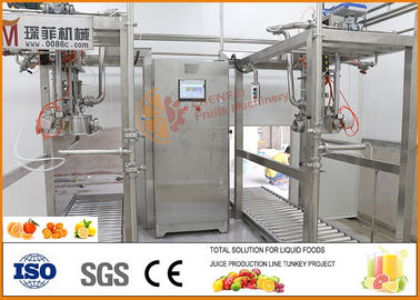 Chaîne de production orange de jus de fruit contenu de fixation de CFM-A-02-352-101 7~12 Brix
